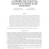 Coupling mode-destination accessibility with seismic risk assessment to identify at-risk communities