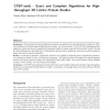 CPSP-tools - Exact and complete algorithms for high-throughput 3D lattice protein studies