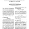Cramer-Rao lower bound on doppler frequency of coherent pulse trains
