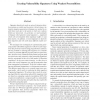 Creating Vulnerability Signatures Using Weakest Preconditions