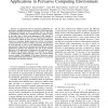Cross-Layer Rate Allocation for Multimedia Applications in Pervasive Computing Environment