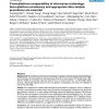 Cross-platform comparability of microarray technology: Intra-platform consistency and appropriate data analysis procedures are e