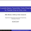 Crosstalk-Aware Transmitter Pulse-Shaping for Parallel Chip-to-Chip Links