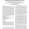 Culturally based design: embodying trans-surface interaction in rummy