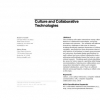 Culture and collaborative technologies