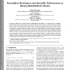 Cumulative Dominance and Heuristic Performance in Binary Multiattribute Choice