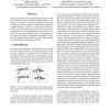 Cursive word skew/slant corrections based on Radon transform