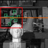 Simultaneous Depth Reconstruction and Restoration of Noisy Stereo Images Using Non-local Pixel Distribution