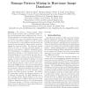 Damage Pattern Mining in Hurricane Image Databases
