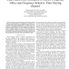 Data-Aided Joint Estimation of Carrier Frequency Offset and Frequency-Selective Time-Varying Channel