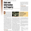 Data and Information as Property