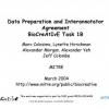 Data preparation and interannotator agreement: BioCreAtIvE Task 1B