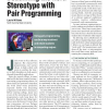 Debunking the Nerd Stereotype with Pair Programming