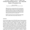 Decision Support System Supporting Clinical Reasoning Process - an Evaluation Study in Dementia Care