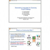 Declarative Languages for Querying Portal Catalogs