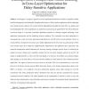 Decomposition Principles and Online Learning in Cross-Layer Optimization for Delay-Sensitive Applications