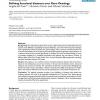 Defining functional distances over Gene Ontology