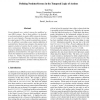 Defining Noninterference in the Temporal Logic of Actions