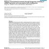 Defining transcriptional networks through integrative modeling of mRNA expression and transcription factor binding data