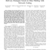 Delay Analysis of Car-to-Car Reliable Data Delivery Strategies Based on Data Mulling with Network Coding