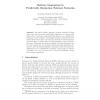 Delivery Guarantees in Predictable Disruption Tolerant Networks