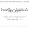 Denoising Maps and Constellations for Wireless Network Coding in Two-Way Relaying Systems