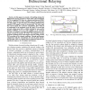 Denoising Strategy for Convolutionally-Coded Bidirectional Relaying