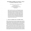 Dependability Modelling and Sensitivity Analysis of Scheduled Maintenance Systems
