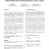 Dependent advice: a general approach to optimizing history-based aspects