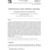 Depth distortion under calibration uncertainty