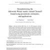 Derandomizing the Ahlswede-Winter matrix-valued Chernoff bound using pessimistic estimators, and applications