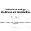Derivational Analogy: Challenges and Opportunities