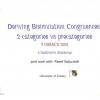 Deriving Bisimulation Congruences: 2-Categories Vs Precategories