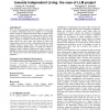 Description and future trends of ICT solutions offered towards independent living: the case of LLM project