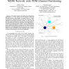 Design and Dimensioning of a Novel composite-star WDM Network with TDM Channel Partitioning