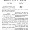 Design and Evaluation of a Routing-Informed Cooperative MAC Protocol for Ad Hoc Networks