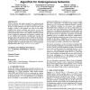 Design and implementation of a context-aware decision algorithm for heterogeneous networks