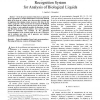 Design and implementation of a patterns recognition system for analysis of biological liquids