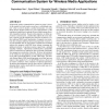 """Design and implementation of an """"approximate"""" communication system for wireless media applications"""