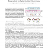 Design and implementation of cubic spline interpolation for spike sorting microsystems