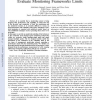 Design and Validation of an Analytical Model to Evaluate Monitoring Frameworks Limits