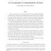 Design, Implementation and Characterization of a Cooperative Communications System