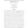 Designing and constructing modifiable middleware using component frameworks