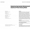 Designing appropriate affordances for electronic photo sharing media