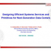 Designing Efficient Systems Services and Primitives for Next-Generation Data-Centers