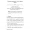 Designing Organizations: Towards a Model