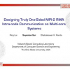 Designing truly one-sided MPI-2 RMA intra-node communication on multi-core systems