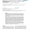 Detecting microsatellites within genomes: significant variation among algorithms