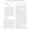 Detecting Network Cliques with Radon Basis Pursuit