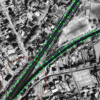 Detection and extraction of road networks from high resolution satellite images